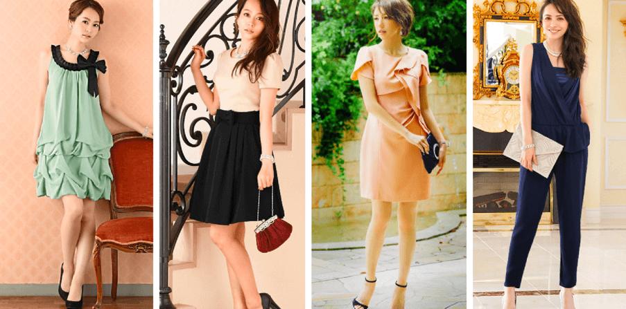 他のドレスブランドとの違いは「全ドレスが細見せシルエット」という事。
